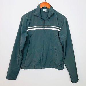Nike Womens Full Zip Windbreaker Track Jacket